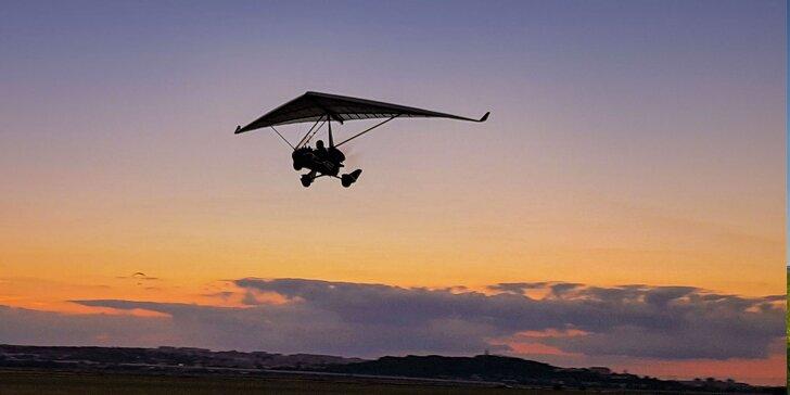 Objavte krásy Nitry z vtáčej perspektívy vďaka letu motorovým rogalom