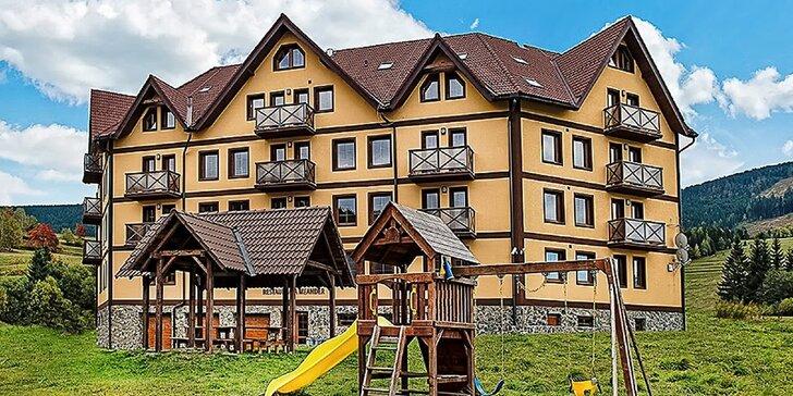 Relax a turistika pre 2, 4 až 6 osôb v krásnych apartmánoch v Slovenskom Raji