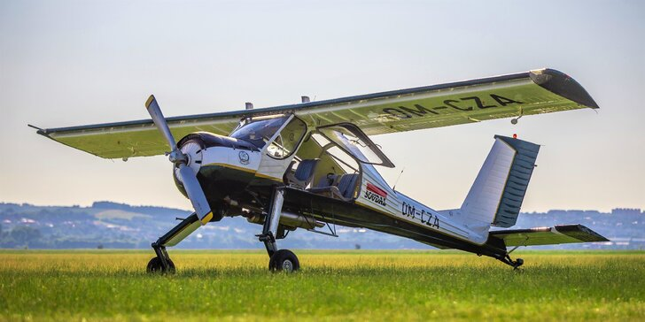 Zážitkový let až pre 3 osoby s možnosťou pilotovania - aj s videozáznamom a certifikátom