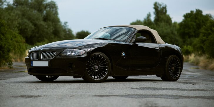 Zážitková jazda v kabriolete BMW Z4 ROADSTER ako šofér či spolujazdec