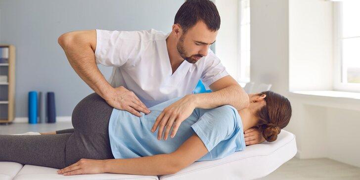 Vstupná konzultácia, individuálna fyzioterapia či mäkké techniky