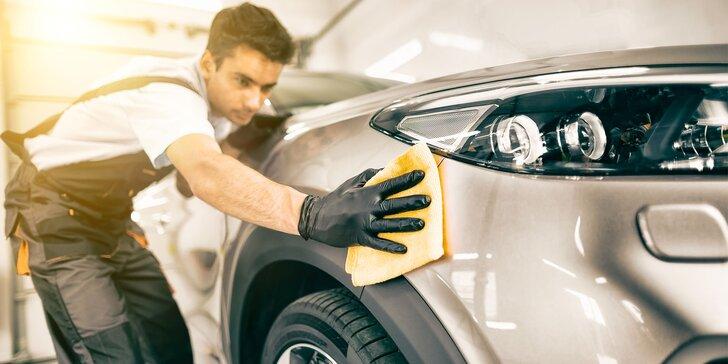 Čistenie interiéru/exteriéru auta, tepovanie, dezinfekcia, voskovanie i dekontaminácia náletového asfaltu a hrdze