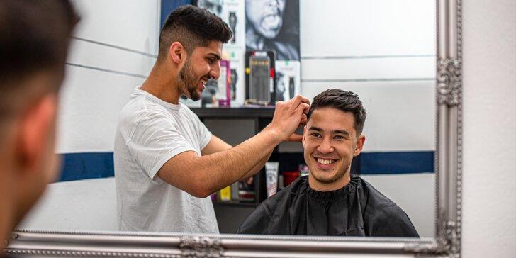 Barberské služby: Chlapčenský aj pánsky strih a úprava brady k tomu