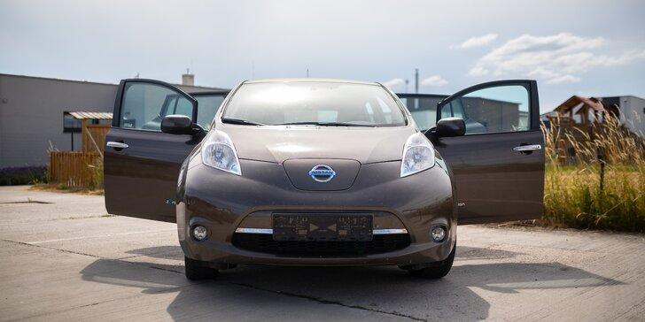Prenájom elektromobilu Nissan LEAF na 1-7 dní bez obmedzení kilometrov a nabíjania
