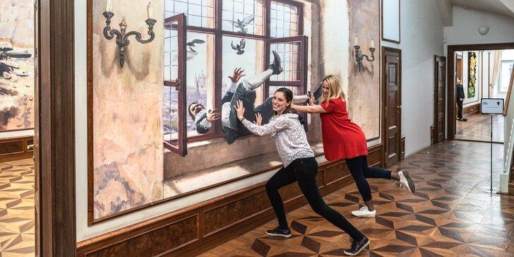 Vstup do múzea Illusion Art Museum Prague pre jednotlivcov aj rodiny
