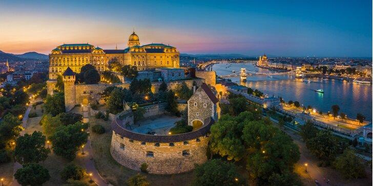 4* hotel v historickom centre Budapešti: pobyt s raňajkami