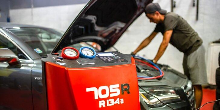 Servis a doplnenie klimatizácie vášho auta v Petržalke
