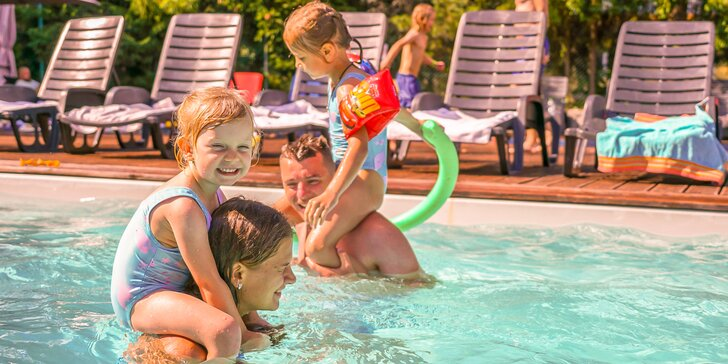 """Unikátna dovolenka v najväčšom rodinnom rezorte """" Family Resort Lučivná """" s hracou plochou pre deti až 15 000 m2"""