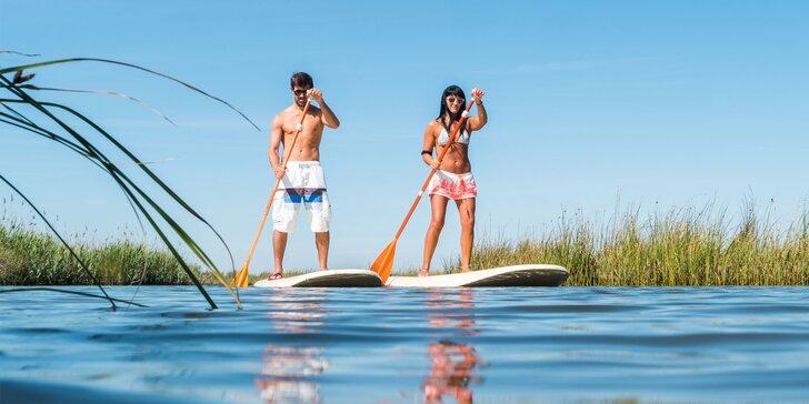 Požičanie paddleboardu na 1 deň alebo celý víkend bez obmedzenia na konkrétnu vodnú plochu