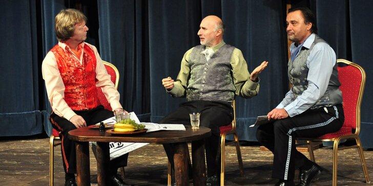 Voucher pre 2 osoby na predstavenie podľa vášho výberu do Teatro Wüstenrot v DK Ružinov
