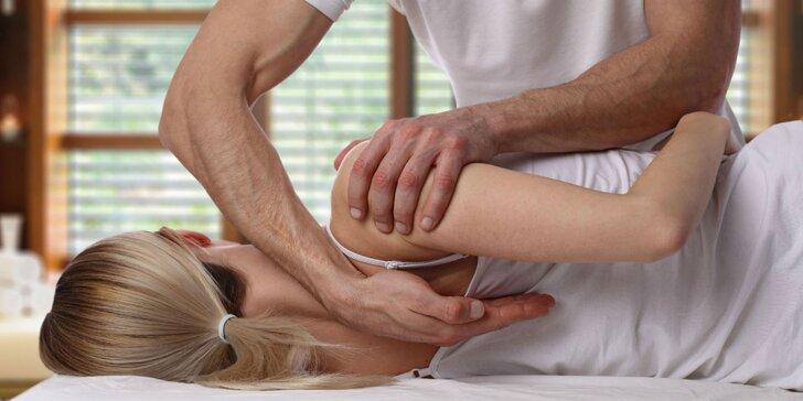 Obľúbená fyzioterapeutická masáž s jemnou chiropraxiou