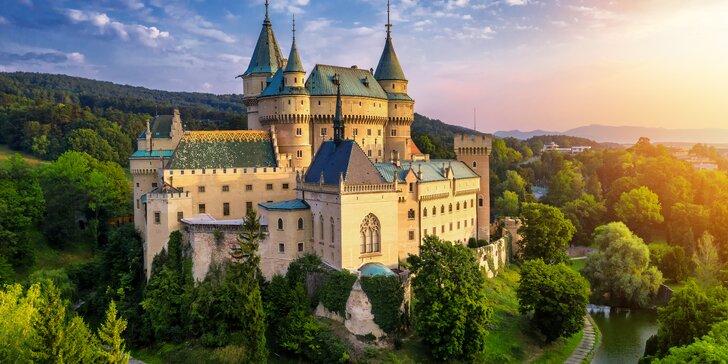 Objavte jedinečné skvosty Slovenska - Bojnice, Vlkolínec či Jánošíkové diery