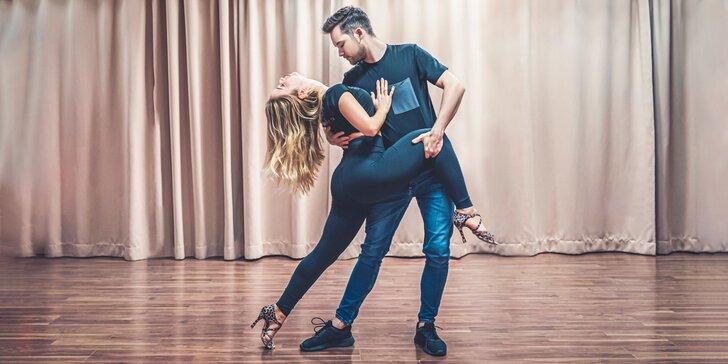 Tanečné kurzy salsy pre 1 alebo 2 osoby v Dance Club SALSA by Norika