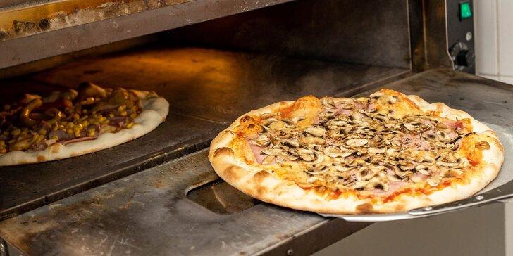 Až 16 druhov pizze na výber - vyzdvihni alebo si nechaj doviezť
