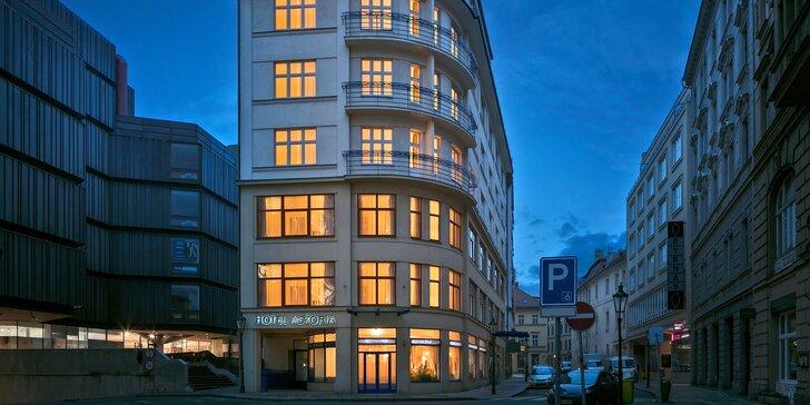 4* hotel pri Staromestskom námestí v Prahe: raňajky i kredit do reštaurácií Zdeňka Pohlreicha