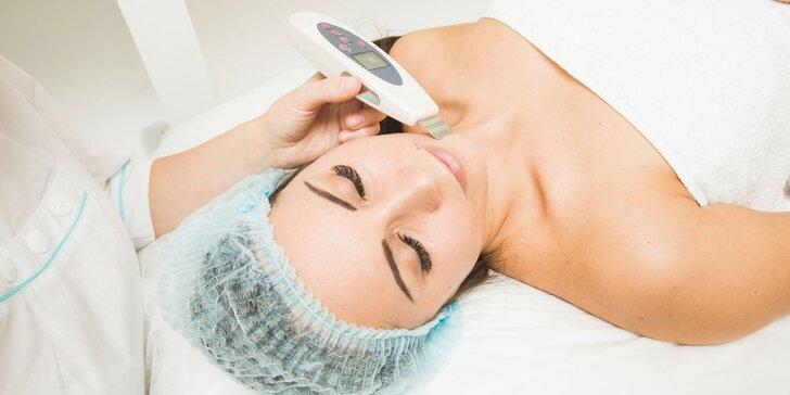 Ultrazvukové čistenie s led maskou, propolisom alebo ozonizérom
