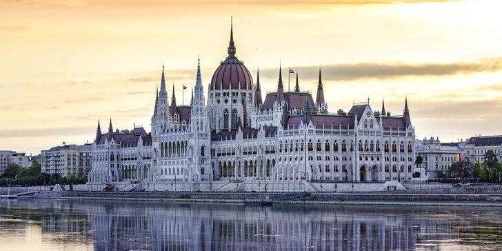 Dovolenka v srdci Budapešti: 4* ubytovanie s raňajkami a prechádzky mestom