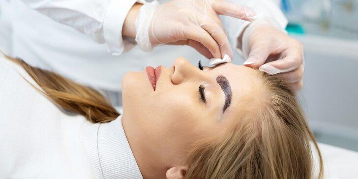 Rôzne kozmetické ošetrenia, úprava obočia či ihličková mezoterapia
