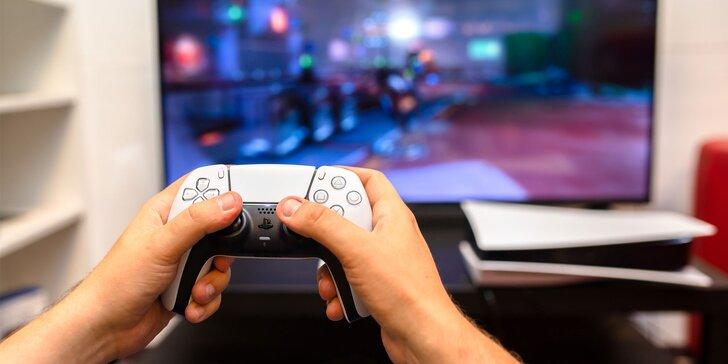 Zabavte sa v herni na PS4, PS5, retrokonzole alebo vo virtuálnej realite