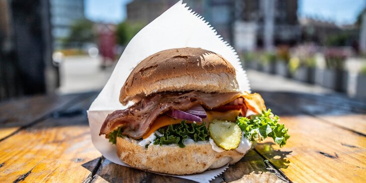 Legendárny Richman: burger, bageta alebo americký hotdog na osobný odber