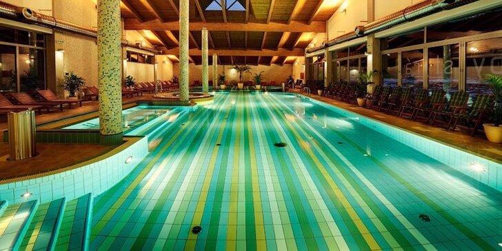 Top Hotel s neobmedzeným vodným a saunovým svetom v nádhernej doline Nízkych Tatier pod Chopkom
