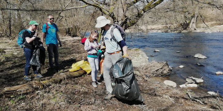Za zdravé a živé rieky bez plastov