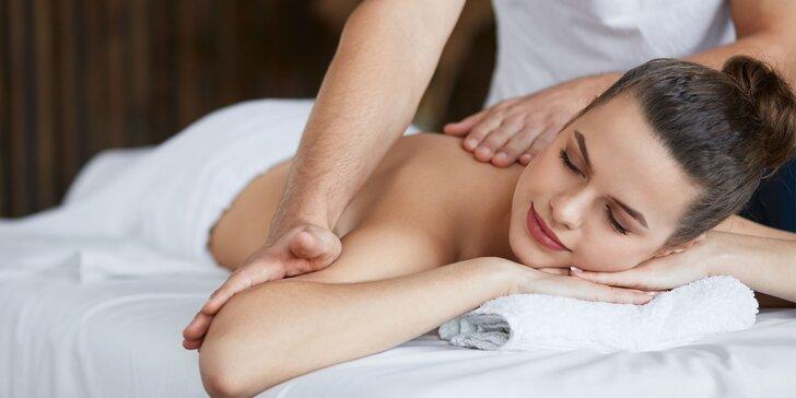 Klasická, lymfodrenážna masáž, soľná infrasauna či masáž pre tehulky