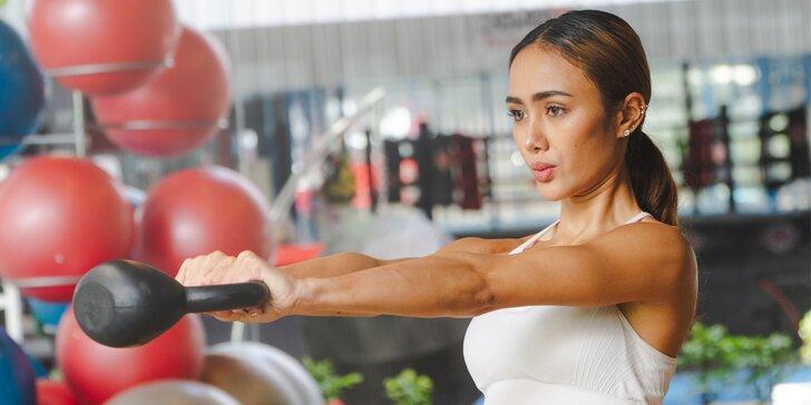 Vstupy do fitness centra STARFIT aj s trénerom