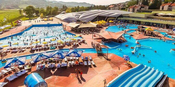 Dovolenka v Chorvátsku: 4* hotel so stravou, neobmedzený vstup do 2 aquaparkov