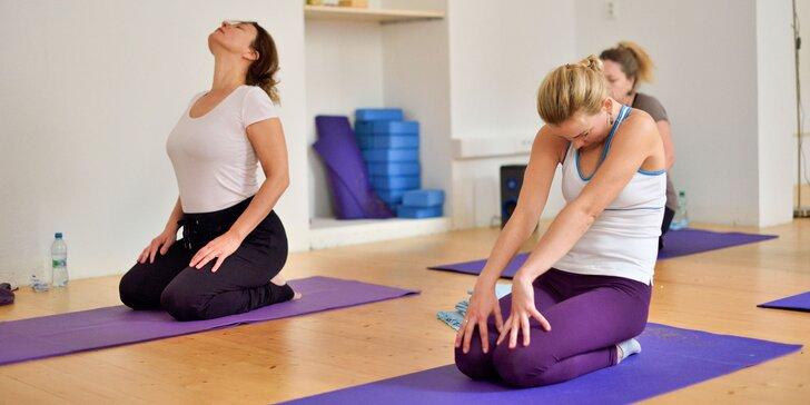 Vstupy na hodiny jogy podľa vášho výberu v Lotus Joga