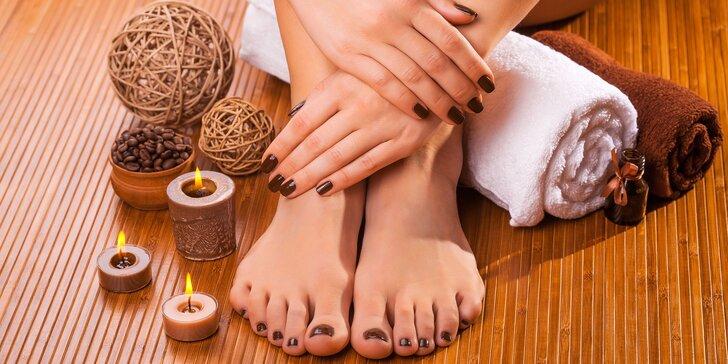 Krásne nechty na rukách i nohách – manikúra s gélovaním prírodných nechtov bez predĺženia