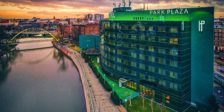 4* pobyt v centre Vroclavu: hotel priamo pri rieke Odra, raňajky a možnosť sauny