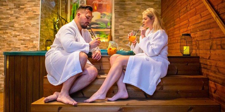 Súkromný Wellness Relax pre dvoch v Hoteli Modena***