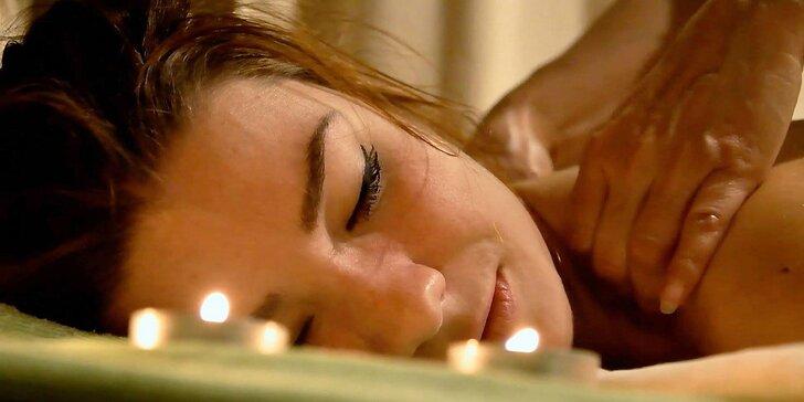 Thajské masáže pre páry aj jednotlivcov a k tomu vstup do wellness!