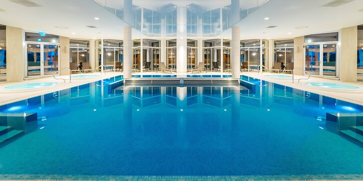 5* luxus v poľských Beskydách: novootvorený hotel, raňajky či polpenzia a neobmedzený wellness, detské herne