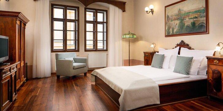 Orloj ako na dlani: pobyt v 4* hoteli na Staromestskom námestí s raňajkami