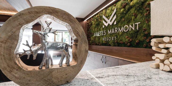 Novopostavený a jedinečný ARIETES MARMONT Resort**** vo Vysokých Tatrách