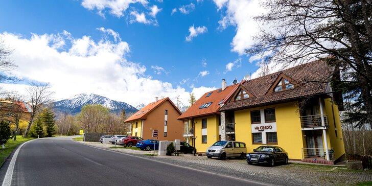 Nové apartmány v Dolnom Smokovci pre 2-8 osôb blízko turistických chodníkov