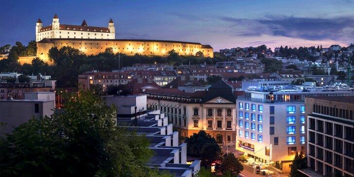 4* pobyt neďaleko historického centra Bratislavy: raňajky, neobmedzený wellness aj fitness