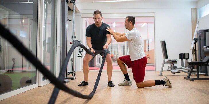Vyšetrenie prístrojom In Body, individuálne tréningy a jedálniček na mieru