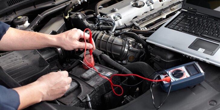 Kompletná kontrola auta a diagnostika porúch (čítanie a mazanie chýb)