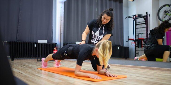 Schudnite cvičením 21. storočia EMS: skúšobný tréning alebo permanentka