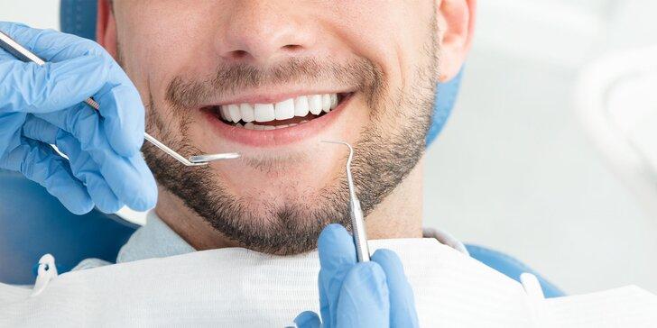 Profesionálne bielenie zubov a dentálna hygiena pre dospelých