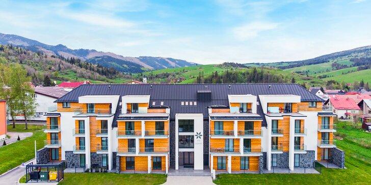 Dokonalý relax pre páry aj rodiny s deťmi v nových apartmánoch Vila Zuberec aj s možnosťou privátneho wellness