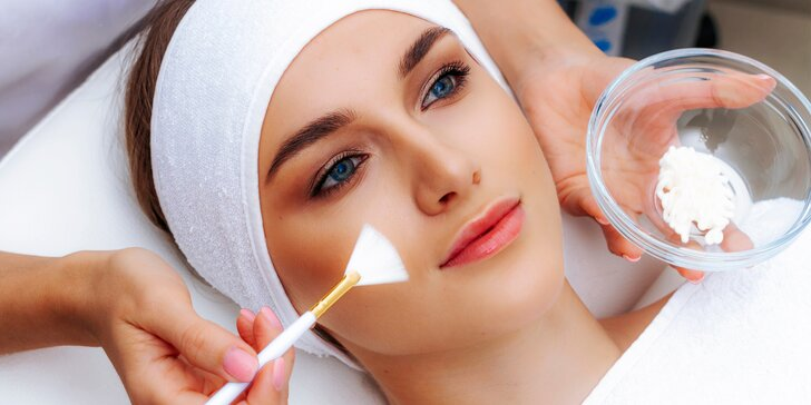Vysoko účinné ošetrenie pleti - chemický peeling, caviar ANTI-AGE či mezoterapia