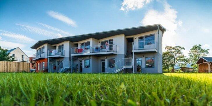 Jesenný pobyt v moderných apartmánoch VERA v Bešeňovej s možnosťou raňajok a špeciálnou cenou vstupov do Aquaparku