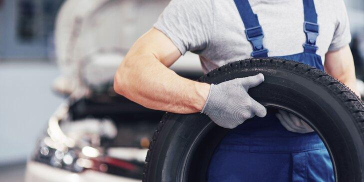 Prezutie letných pneumatík alebo výmena kolies + vyváženie a kontrola bŕzd