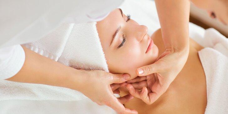 Manuálne čistenie pleti s masážou a úpravou obočia či ozonizérom