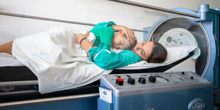 Liečba zdravotných problémov v pretlakovej kyslíkovej komore