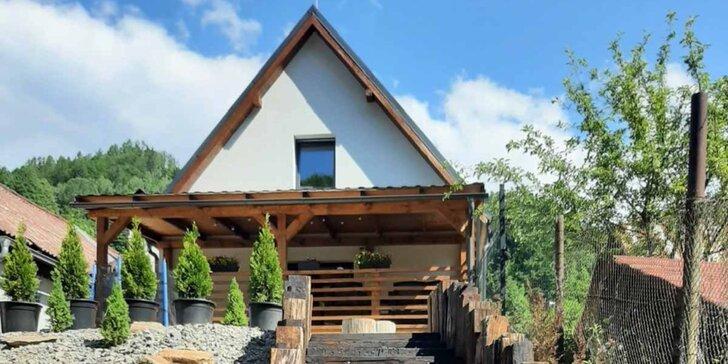 Moderná horská chata pre 8-10 osôb: krásna príroda a atraktívna lokalita v blízkosti vyhľadávaných rekreačných stredísk